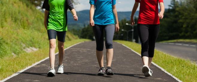 正しい姿勢で歩けば、体によくてのイメージ画像